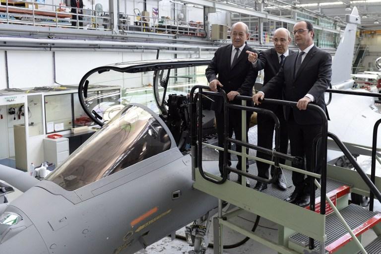 Les ventes d'armes françaises ont reculé depuis cinq ans