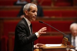 Malek Boutih, député socialiste et membre de la commission à la défense. François Guillot / AFP