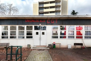 Union Locale CGT du 8e arrondissement de Lyon et de Bron © Tim Douet