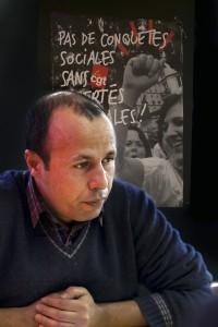 Rachid, ancien assistant de direction licencié en 2014 © Tim Douet