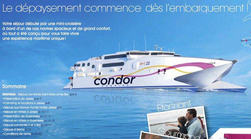 Plainte pénale pour travail dissimulé et fraude fiscale contre la société Condor Ferries