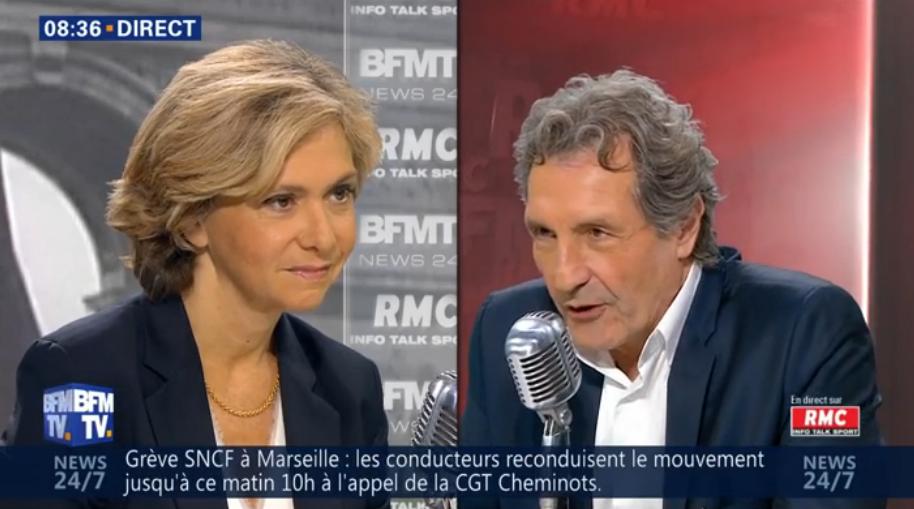 """Hors micro, Pécresse raconte à Bourdin """"les enveloppes qui circulent"""""""