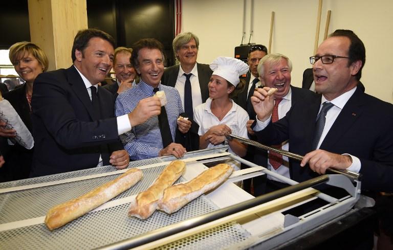 Les Français plus attachés à leur baguette de pain qu'à leurs institutions républicaines