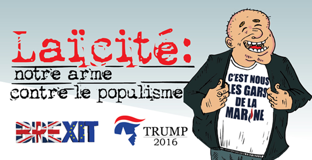 Laïcité: notre arme contre le populisme
