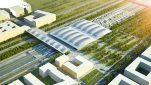 Le projet de nouvelle gare TGV Montpellier/LaMogère (dessin d'archi)
