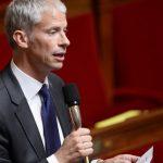 Franck Riester, député LR de Seine-et-Marne, lors d'une séance de questions à l'Assemblée nationale. © AFP PHOTO / BERTRAND GUAY