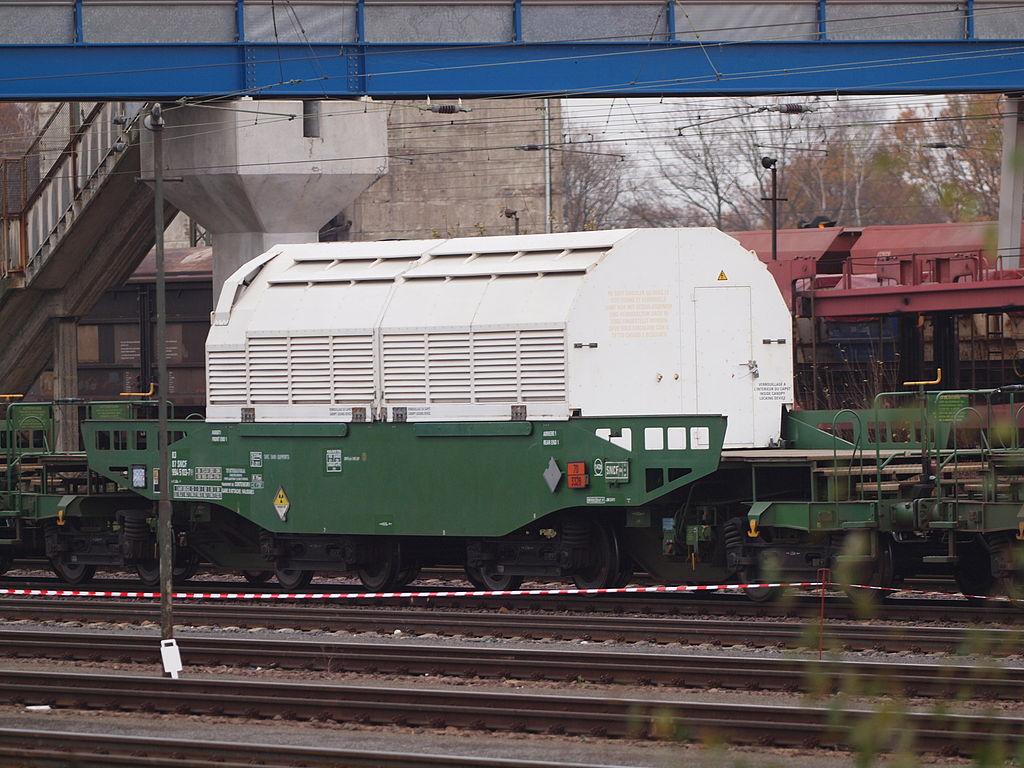 Areva Creusot : des pièces défectueuses sur les trains de déchets nucléaires