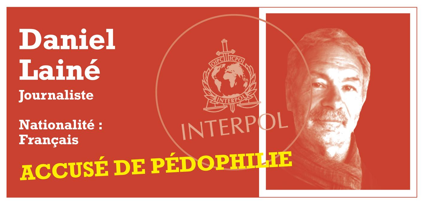 """Notices rouges: entretien avec le journaliste Daniel Lainé, fiché comme """"pédophile"""""""