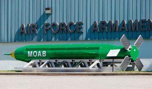 """""""Mère des bombes"""", plus puissante bombe non nucléaire américaine"""