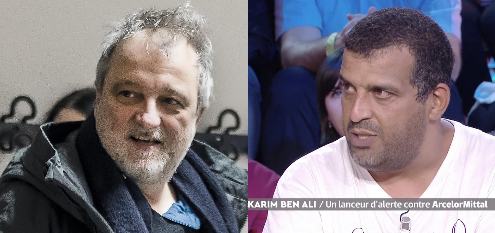Rencontre avec Denis Robert et Karim Ben Ali à Metz