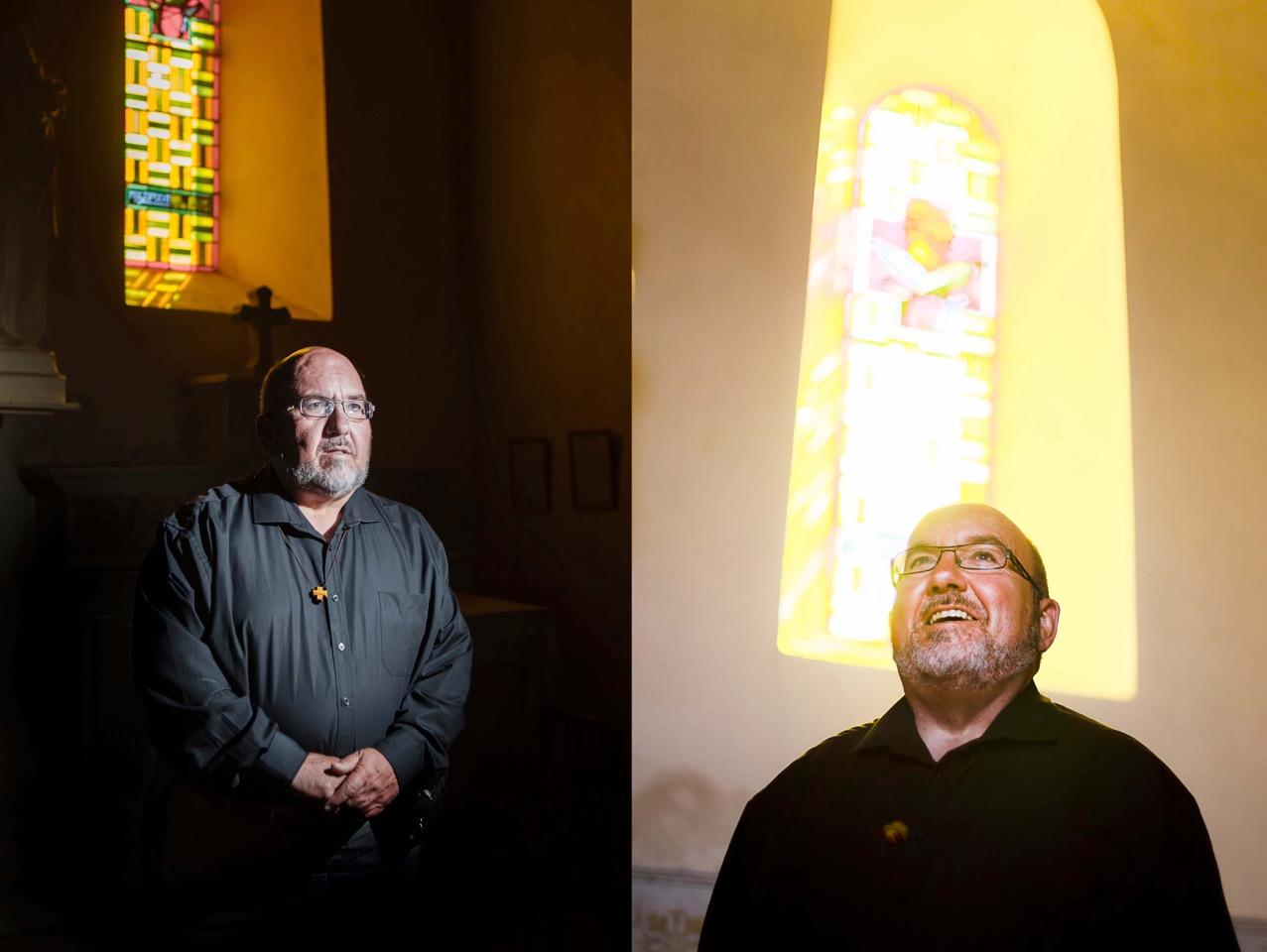 """Pédophilie dans l'Église: limogé, le père Vignon """"ne retire rien"""" de sa parole"""